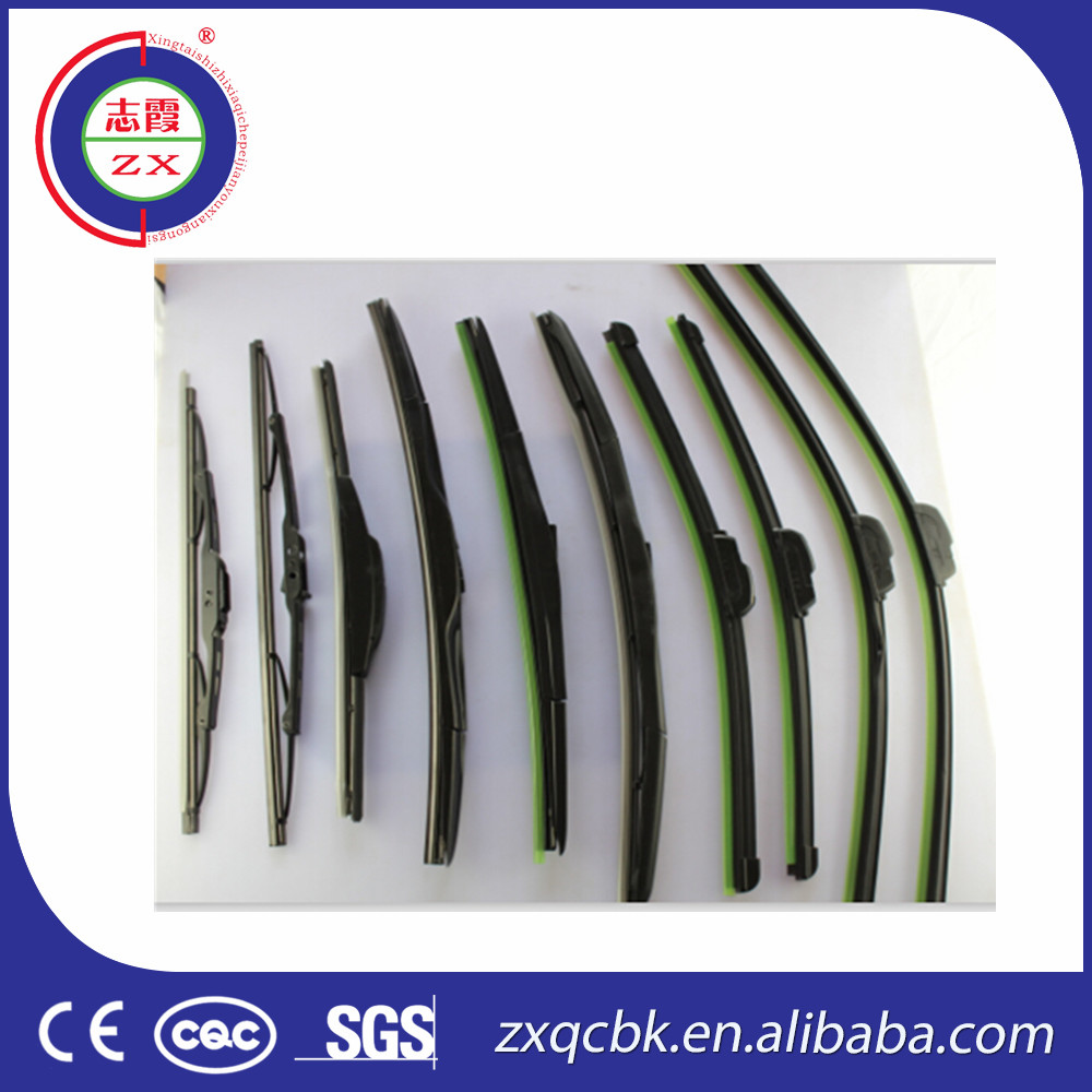 universal type wiper blade with multiple clips / U hook screw wiper blade