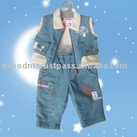 Baby Jeans set