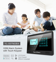 WIFI+GSM 3G! Smart home Wireless GSM Business/house alarm security systems with laser fence sensors app