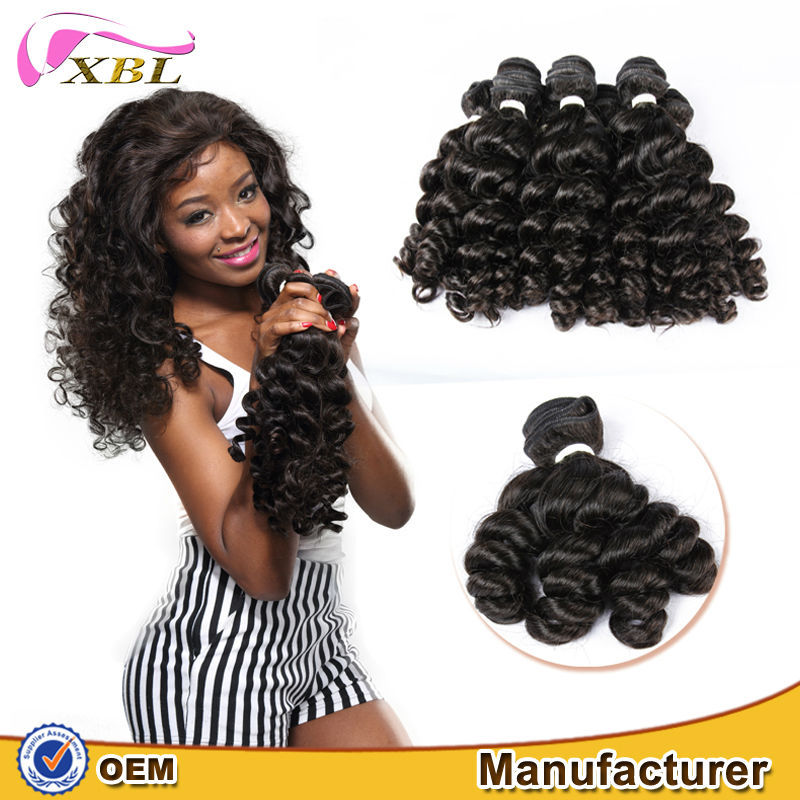 100% raw virgin unprocessed beautiful texture high premium full cuticle fast delivery factory direct sale French curl remy hair