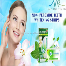 30 Minutes NON-PEROXIDE Teeth Whitening Strips better than crest 3d whitestrips