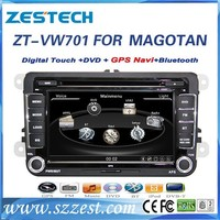 ZESTECH Hottest selling Indash HD touch screen 2 din car stereo for VW Golf 6 Car dvd player Exporter with EXW price