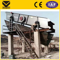 China popular trommel vibrating screen with lowest price for gold mine