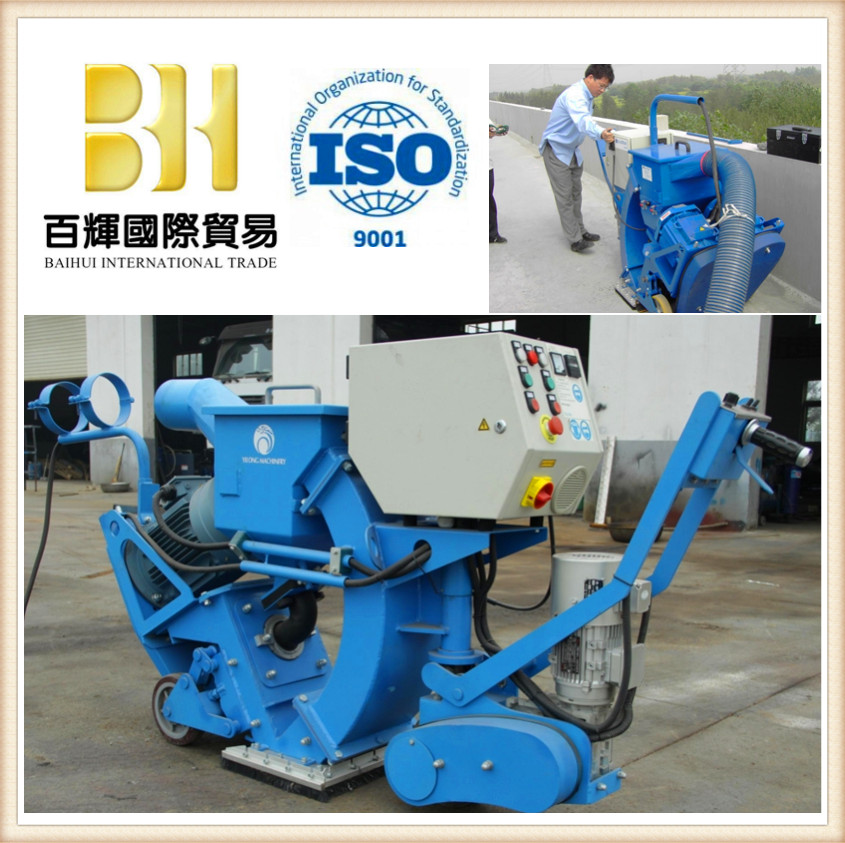 road and bridge surface cleaning shot blasting machine with CE approved