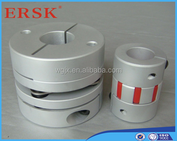 Quality inspection before shipment linear bearing ball screw coupling flexible couplings metal bellows coupler