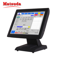 pos terminal equipment with receipt printer and cash drawer box