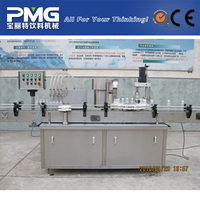CBP-4 Small Glass bottle medicine filling and aluminum cap sealing machine