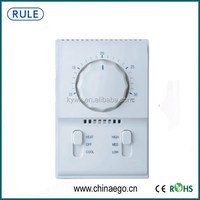 Manual Control Fan Coil Wireless Thermostat From China Manufacturer