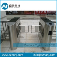 Intelligent Pedestrian supermarket swing gate barriers for subway stations
