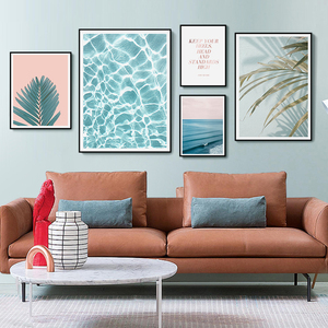 Free Sample Home Decor Wooden Frame Canvas Art Work