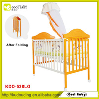 Comfortable Baby Crib , Baby Cot with mosquito nets