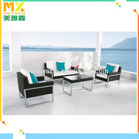 Outdoor Furniture Rattan sofa Foshan garden wicker bathroom furniture