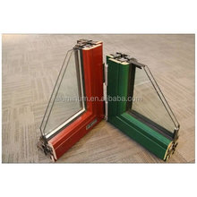 China top wooden aluminum glass window frame