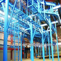 heavy truck suspension conveyor system
