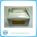 New Fancy Design Paper Gift Box, Handle Gift Box with Logo Printing