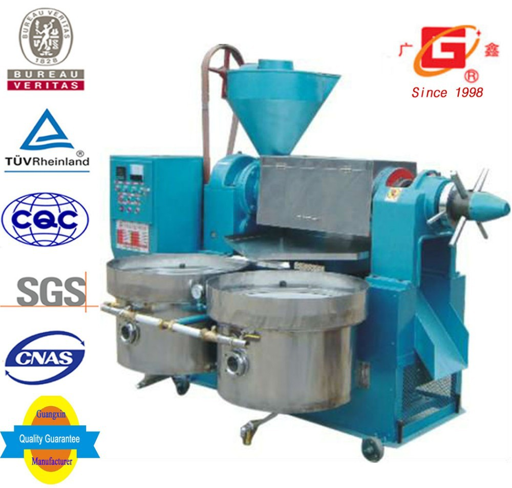Guangxin combined oil extraction machine with oil filter top sales chia seeds oil extraction machine with good price