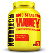 Gold Standard Whey Protein Isolate Powder Muscle Building Protein