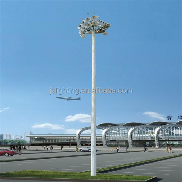 baode lights factory price LED high mast lighting 30m high mast pole