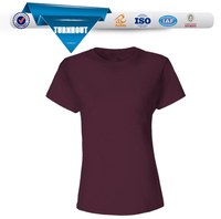 Wholesale blank custom sublimation ladies new design t shirt