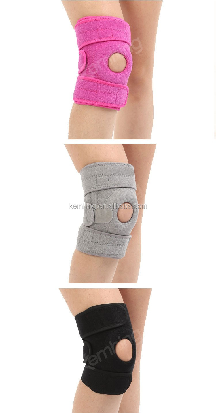 Powerlifting Waterproof neoprene knee sleeve brace strap knee support