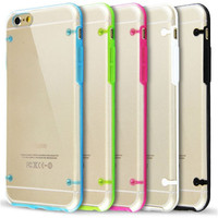 JESOY Colorful Transparent clear Flash Light Soft TPU LED Cell Phone Case For iphone 6 7 8 X