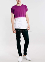 CHEFON Purple half wash tshirt mens clothing websites