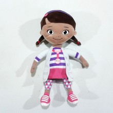 Hot sell fashion doll toy doc mcstuffins plush doll girl doll toy