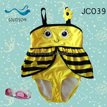 popular child swimsuit models one piece swimsuit