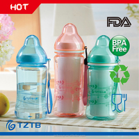 Double layer special designed BPA free plastic cup for children