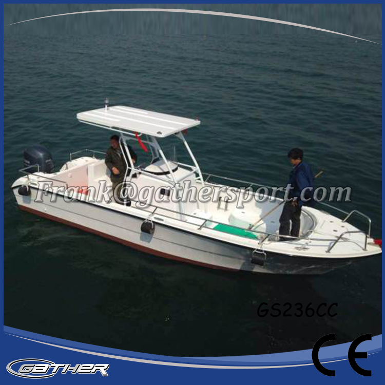 Gather China used Outboard engine ce certificate river fiberglass boat