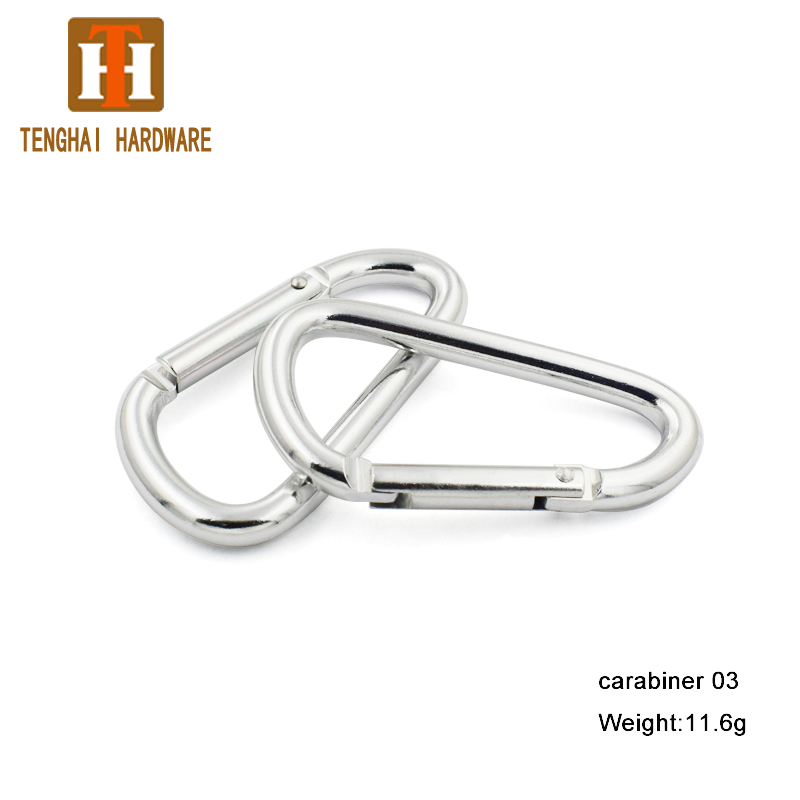 Wholesale aluminum snap climbing hook