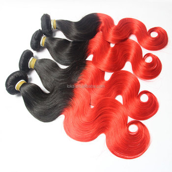 wholesale alibaba best products 100% virgin red hair extensions human hair