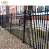 Haiao fence High quality Galvanized and powder coated Residential Hot sale Low price iron fence