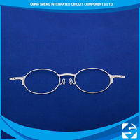 Cheap Promotional Custom New Style Beautiful Etching Metal eyeglass frame korea