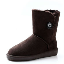 2017 snow boots with thick fur linging and nonslip outsole 5803 classial style