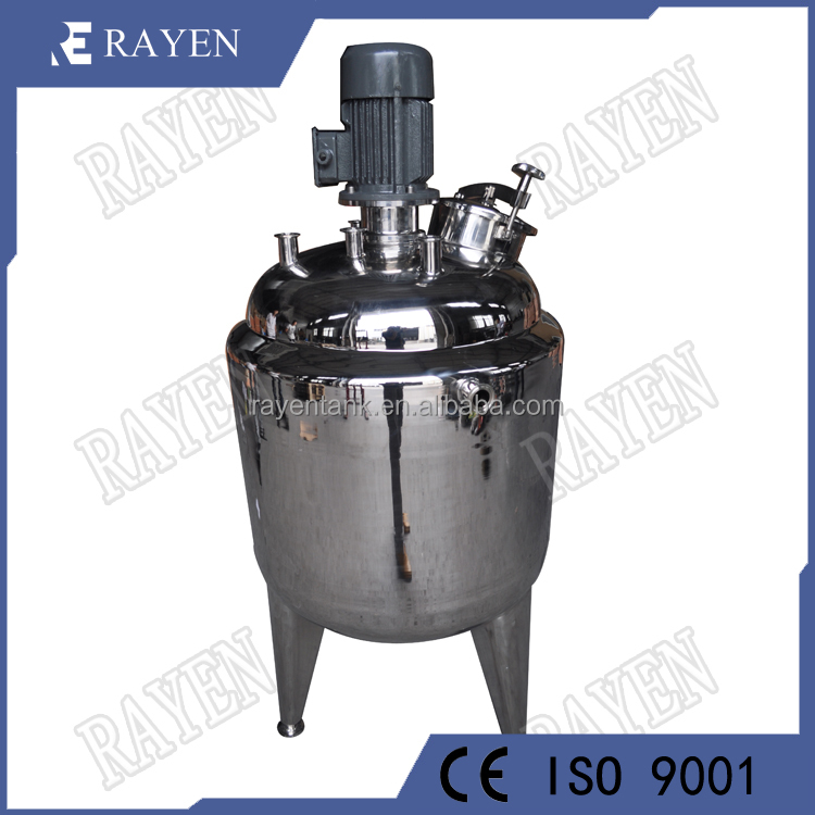 SUS304 stainless steel mixing tank reactor pressure tank sizing