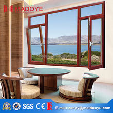 High quality profile aluminium tilt and turn windows and doors