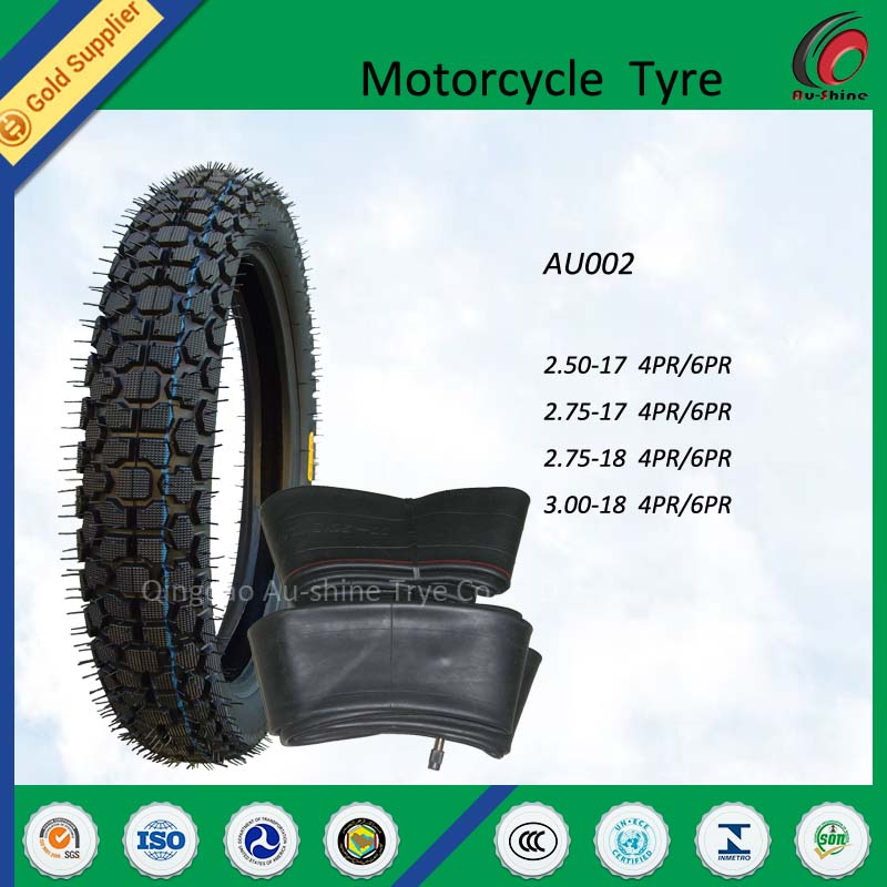 China Cheap Tire Motorcycle Tyre and tube 3.50/4.00-16