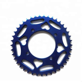 motorcycle CNC aluminum rear sprocket 520