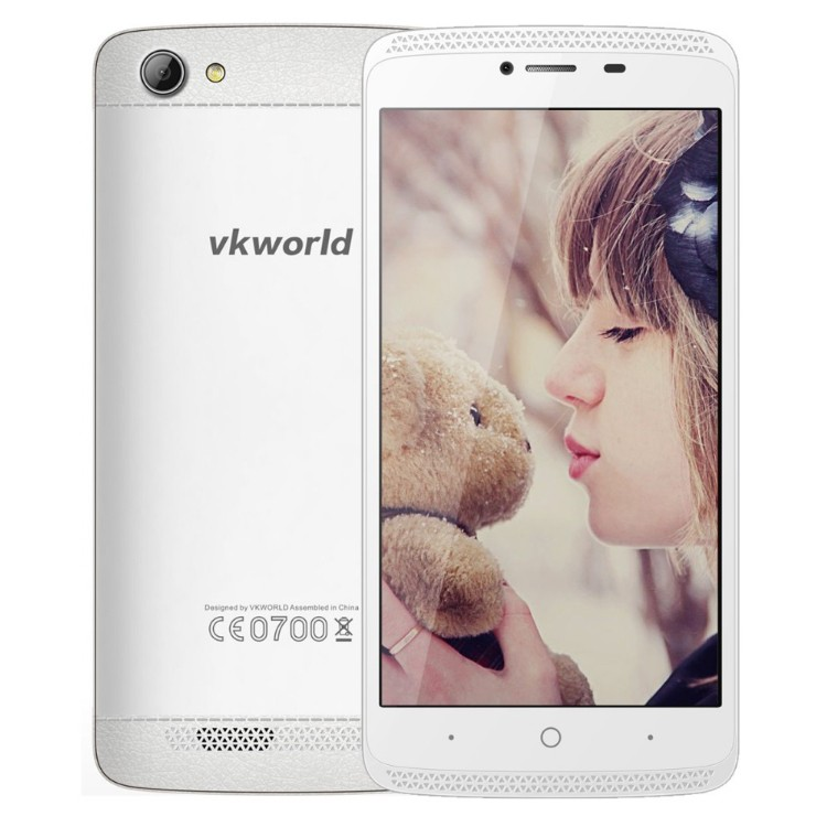 "Original Vkworld VK700MAX 5.0"" IPS I280X720 Android 5.1Smart phone MTK6580 Quad Core 1GB RAM 8GB ROM WCDMA GPS 3G Mobile Phone"