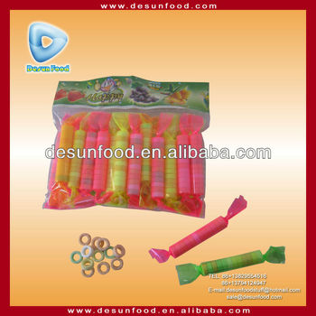 Lalal neon ring press candy