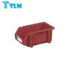 180x120x80mm Bottom Price Durable Reuseable Nestable Plastic Red Storage Bins for Dishwashing Factory