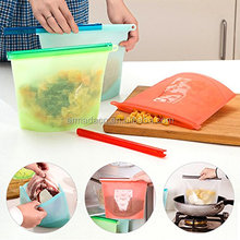 Reusable Vacuum Food Sealing Silicone Food Storage Bag