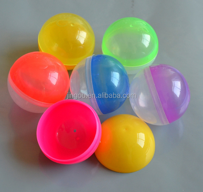 Wholesale Plastic Empty Vending Toy Capsule