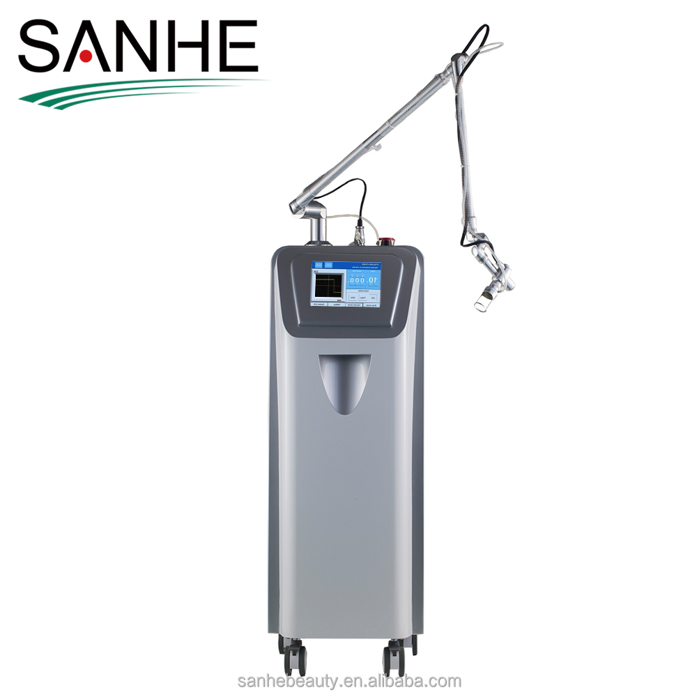 Fractional Co2 laser for pregnant lines removal Scar removal with CE Usa Coherent Rf Tube for deep anti-wrinkle dispel scar
