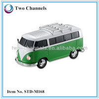 2014 Promotion Gift With FM Radio/USB/TF Card Mini Bus Speaker