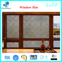 Best Price Environmental Protection Non Adhesive Decorative Electric Window Tinting Film