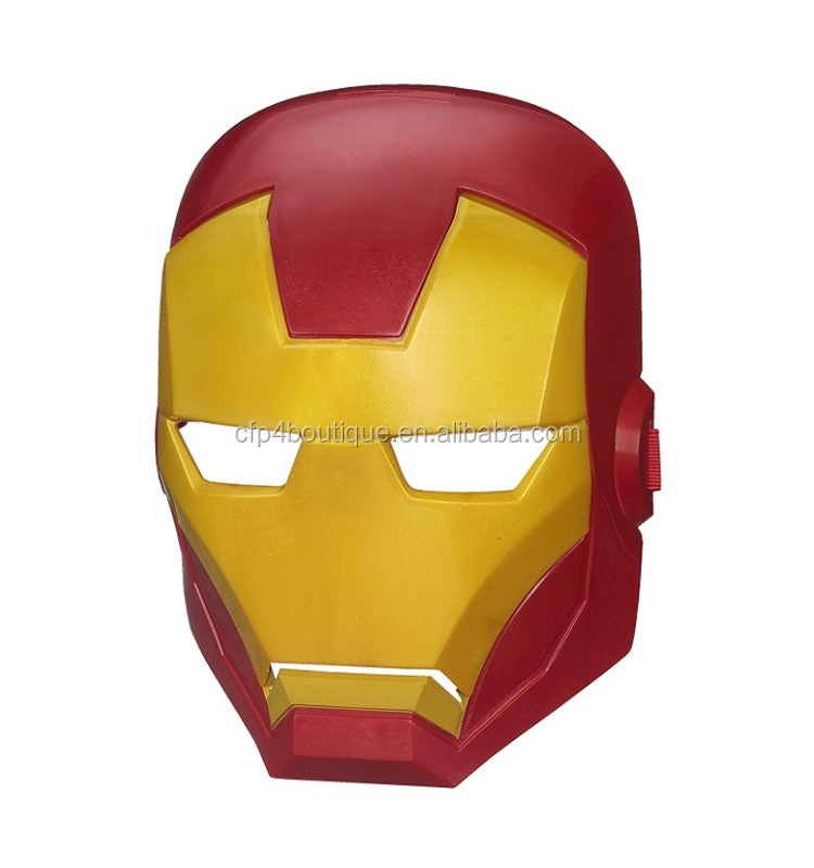 CFP A537 Marvel Avengers Mask Iron Man Mask