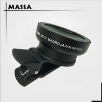Massa Digital high definition 0.45x super wide angle lens with macro Japan optics