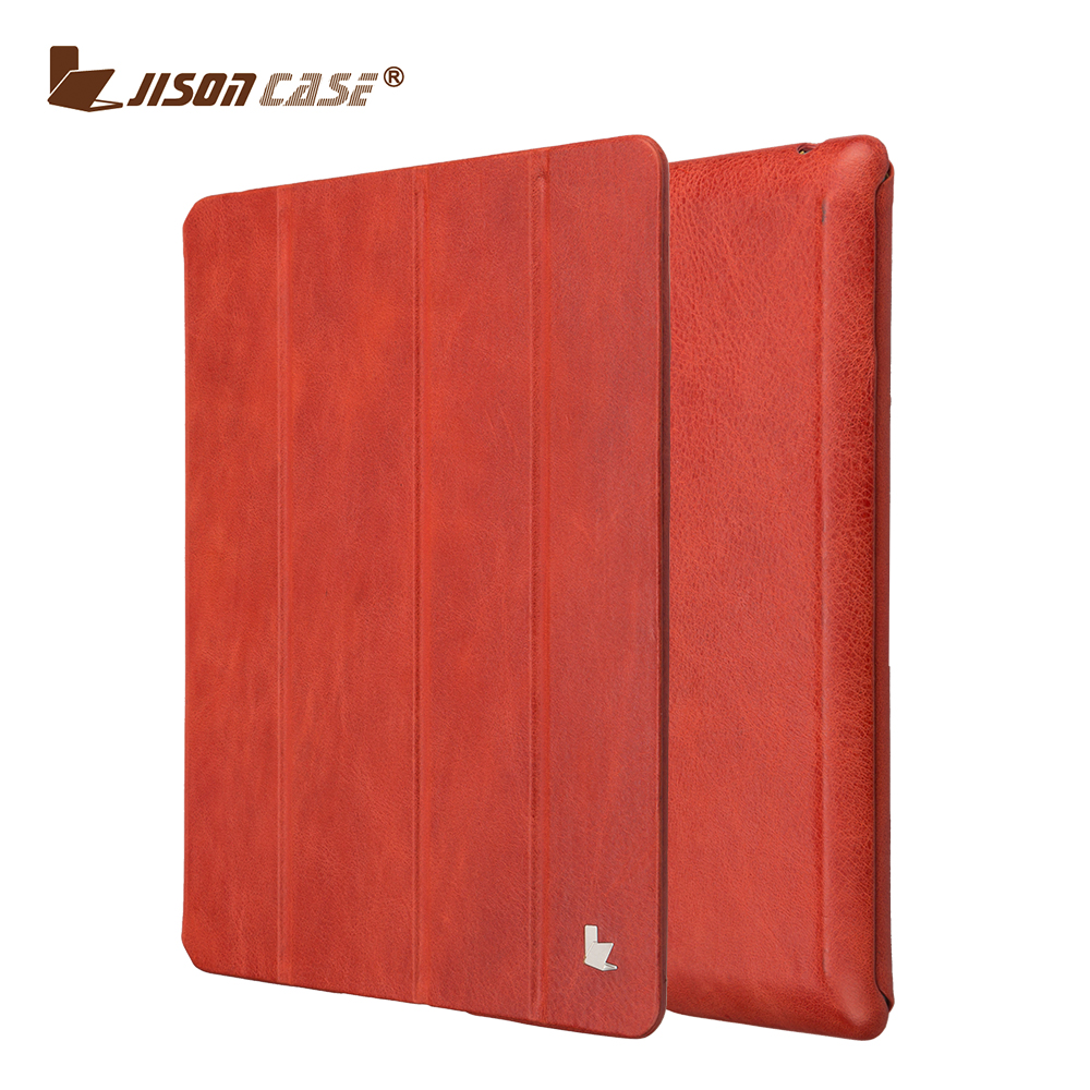 100% handmade leather case universal case for ipad 2 / 3 / 4 shockproof for ipad case